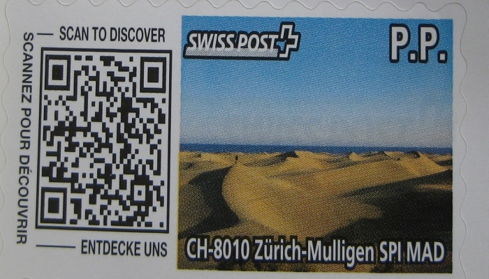 Briefmarke SwissPost